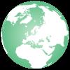 Europe-globe-map